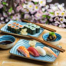 Tochiri set na sushi