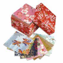 Washi origami papier v krabičke