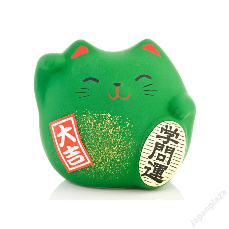 Zelené feng shui manekineko S