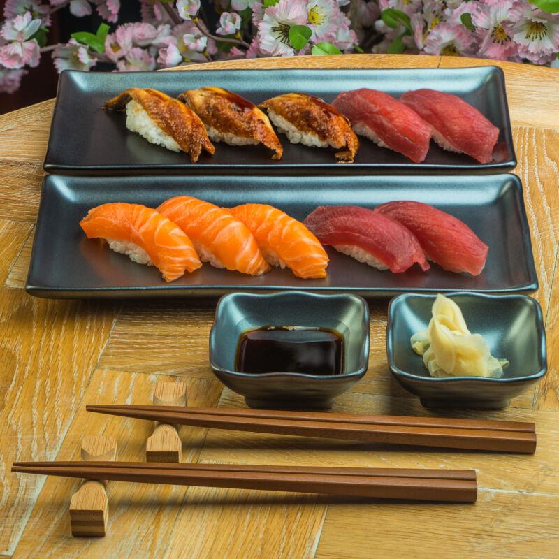 Sumi Grey sushi set