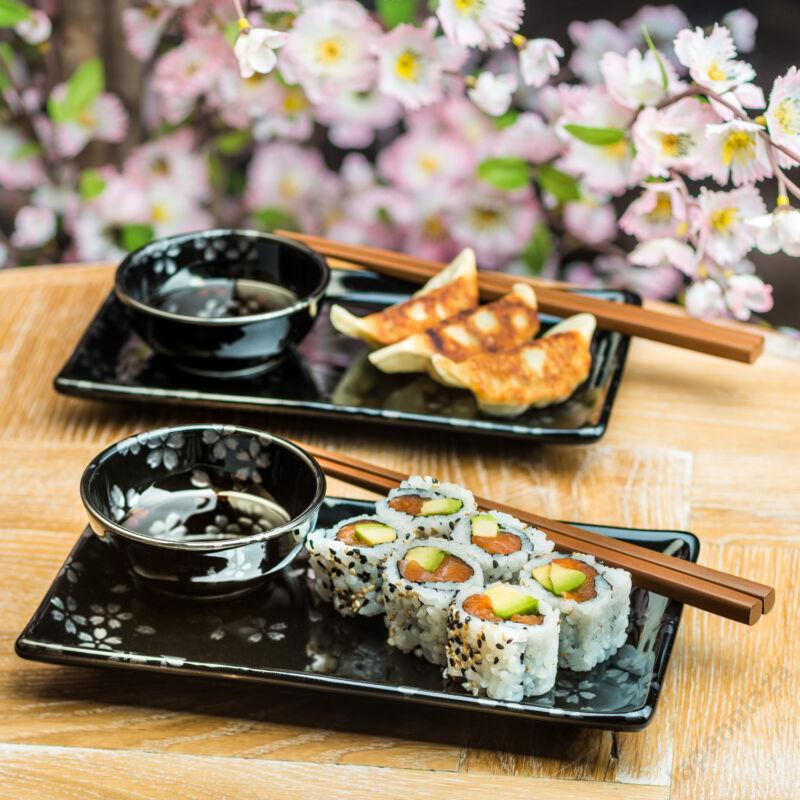 Ginsai szakura Sushi készlet