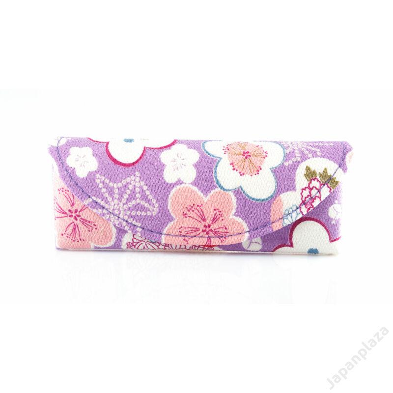 Púzdro na okuliare Purple Flower