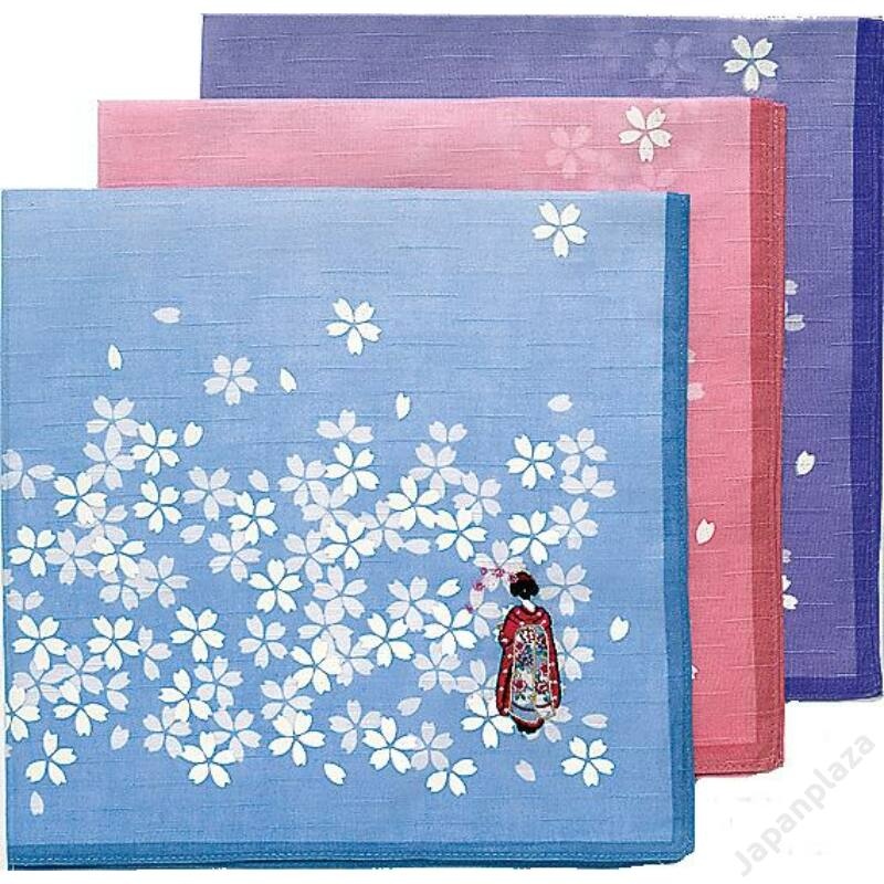 Hana-kanzashi kendőcske