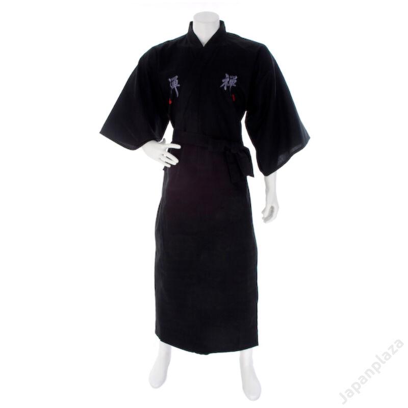 Zen kimono dlhé vyšívané