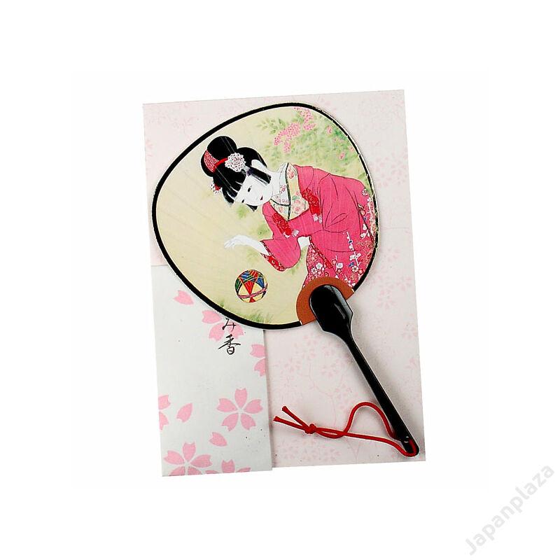 Pohľadnica - dievča s loptou