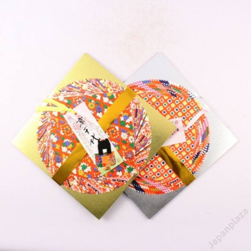 Origami papír könyvjelzővel
