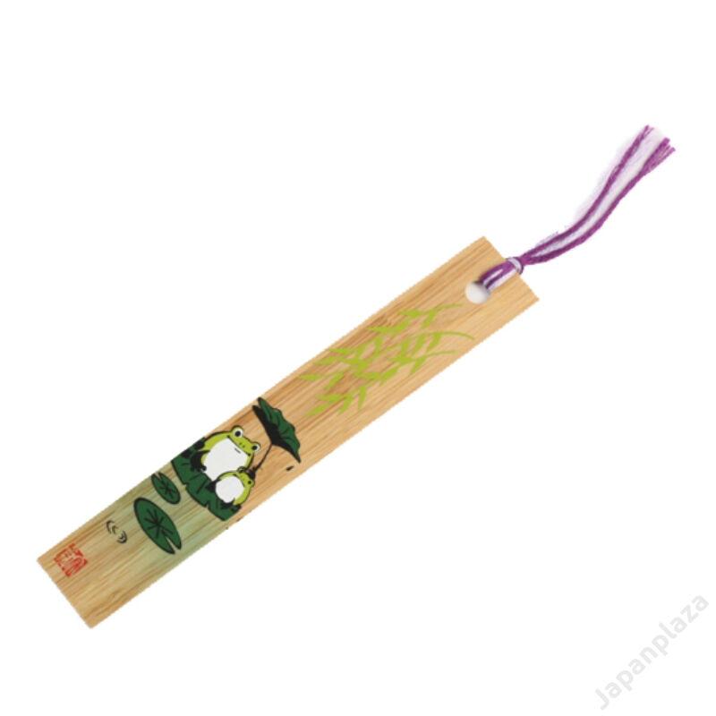 Bambusz könyvjelző Kaeru