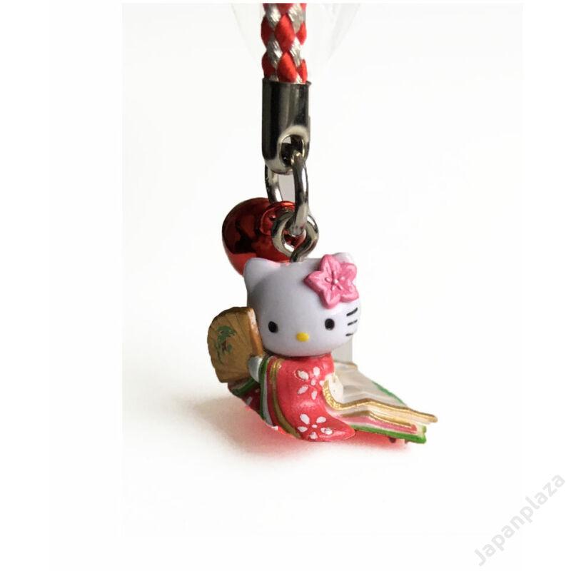 Hello Kitty piros kimonóban